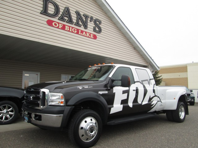 2007 Ford F-550 Crew